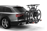 Thule EasyFold XT 2 bike on car 933100