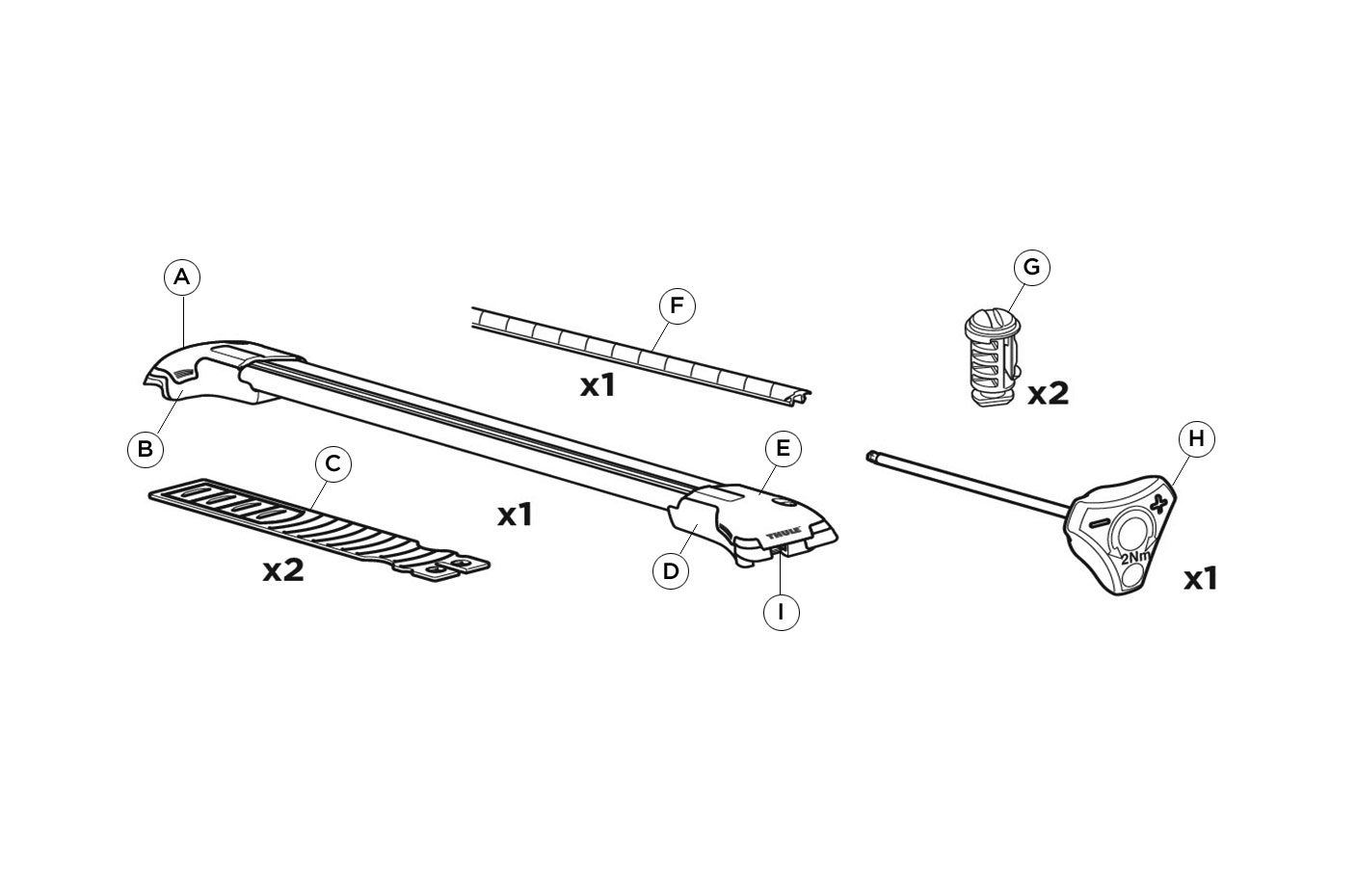 Spare Parts Thule Usa