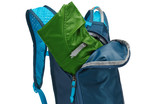 Zippered storage of Thule UpTake hydration pack