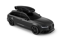 Thule Vector L Black 6137B on car side front