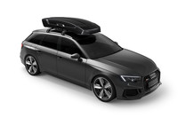 Thule Vector M Black 6132B on car side front