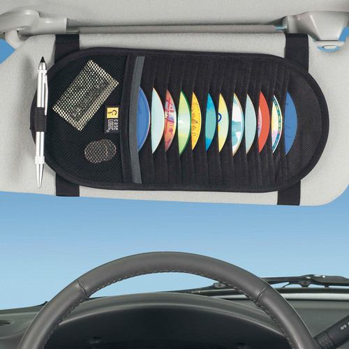 Case Logic 12 Capacity CD Visor in car