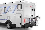 Thule Range 9057 with bikes on RV