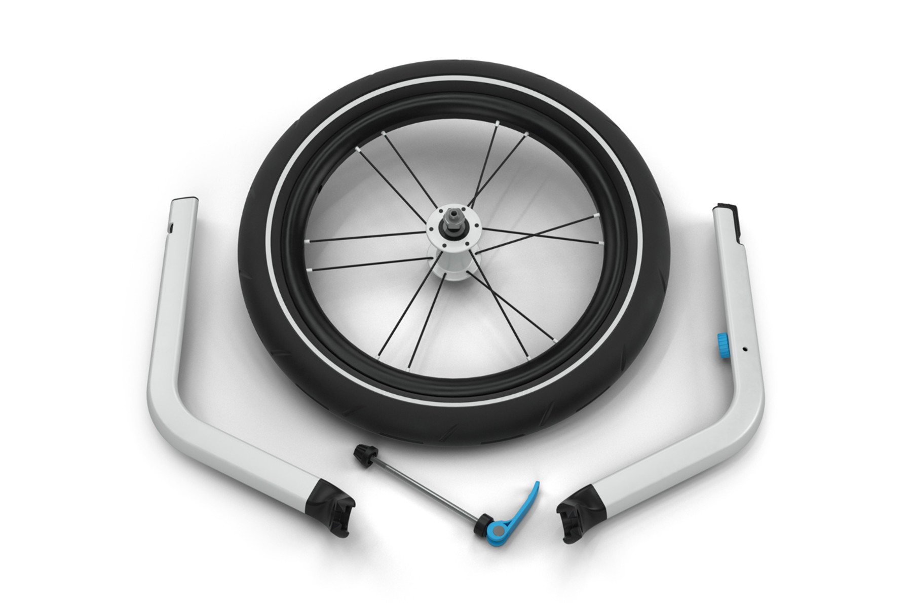 Conversion kit-Thule Chariot Jogging Kit