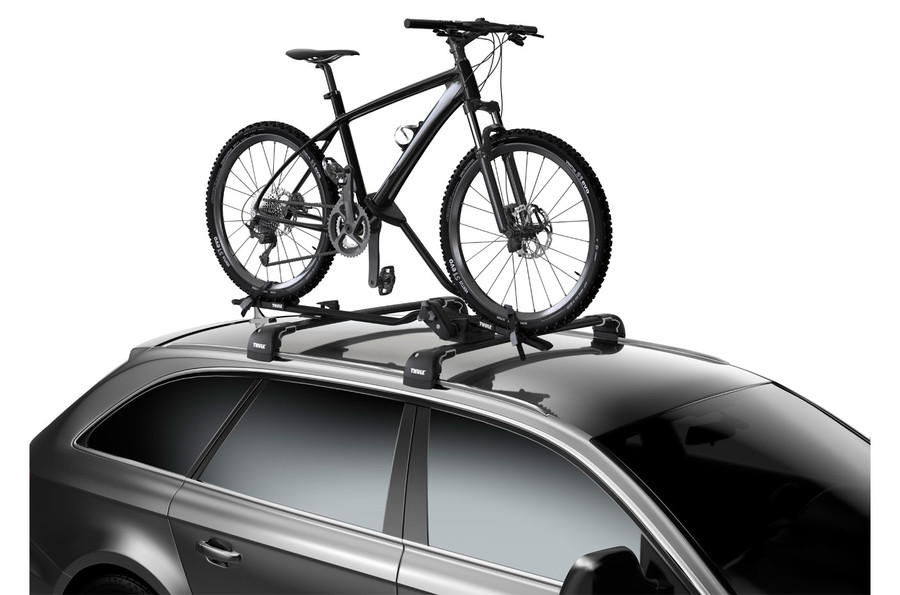 Roof Bike Rack Thule ProRide On Car