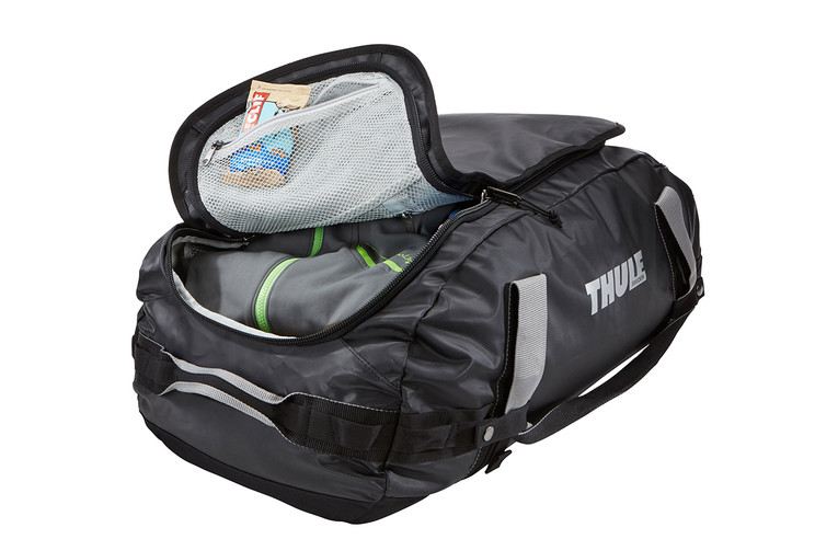 Thule Chasm 40L big mouth opening
