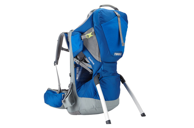 Thule Sapling Cobalt with removable stirrups