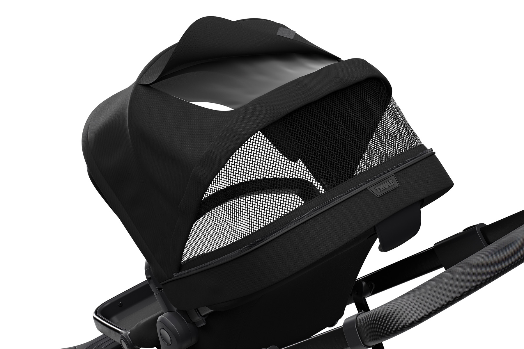 Canopy of stroller Thule Sleek Black-on-Black