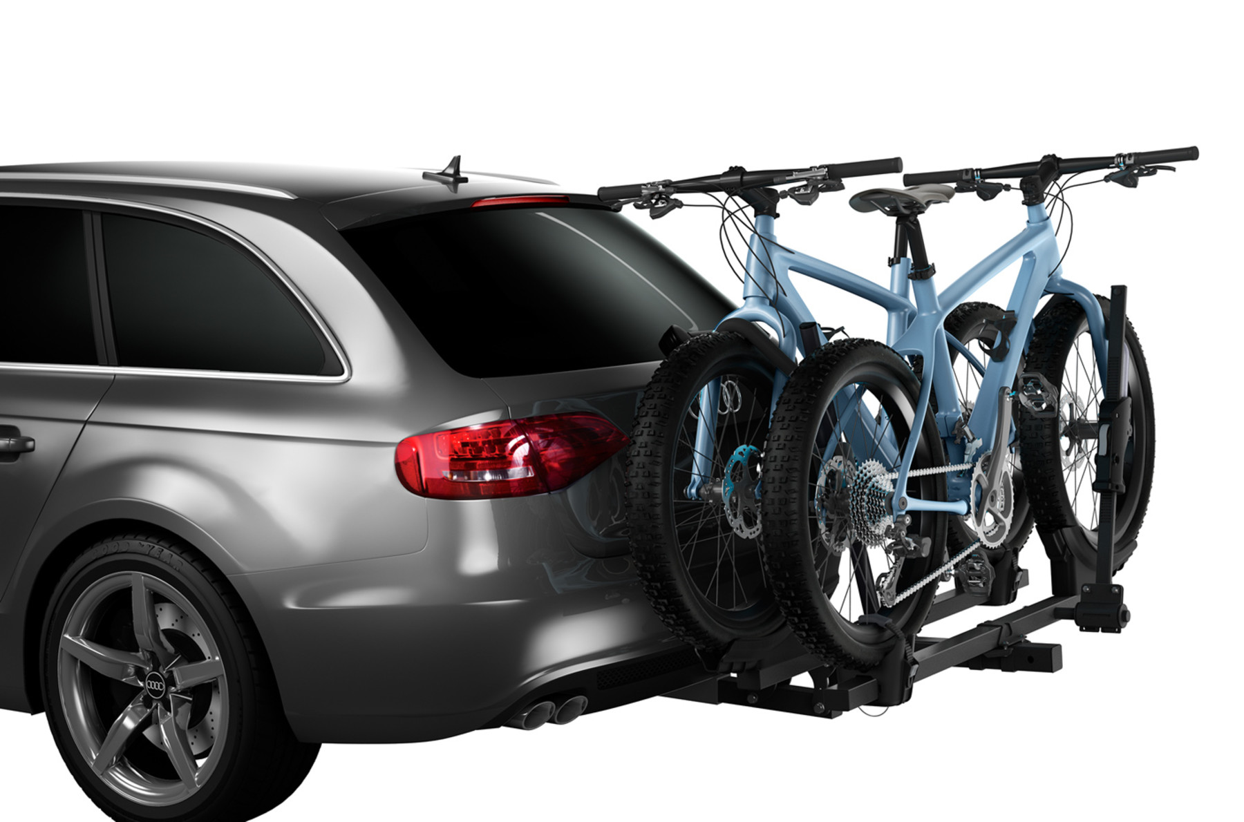 Bike carrier Thule T2 Classic 9044 on a car