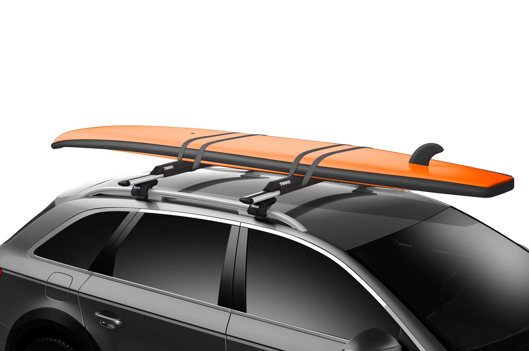 Thule Surf Pads on car