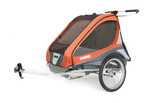 Thule Chariot Captain2 Orange Bike