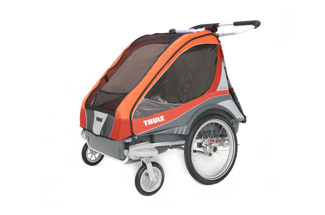 Thule Chariot Captain2 Orange Stroll