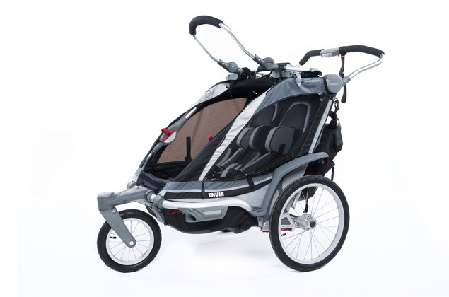 Thule Chariot Chinook2 Black Stroll