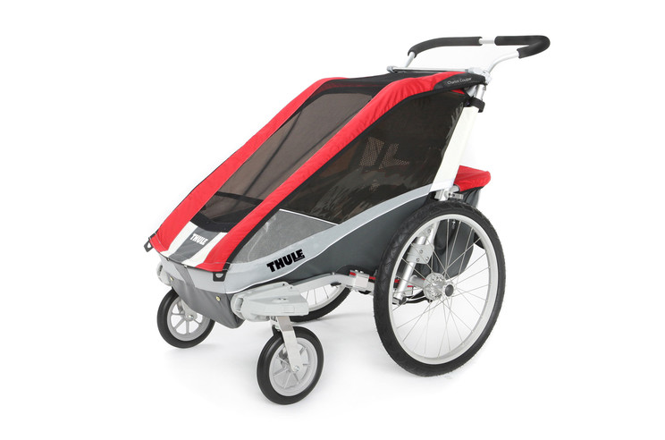 Thule Chariot Cougar1 Red Stroll