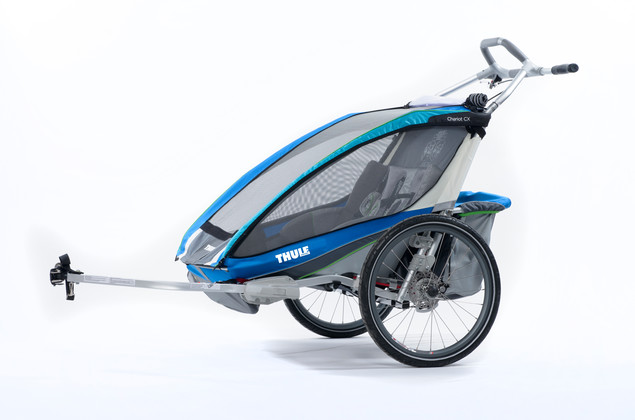 Thule Chariot CX2 Blue Bike