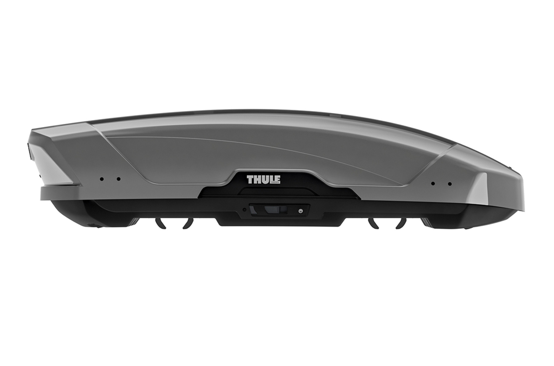 Thule Motion XT M hero side - titan glossy