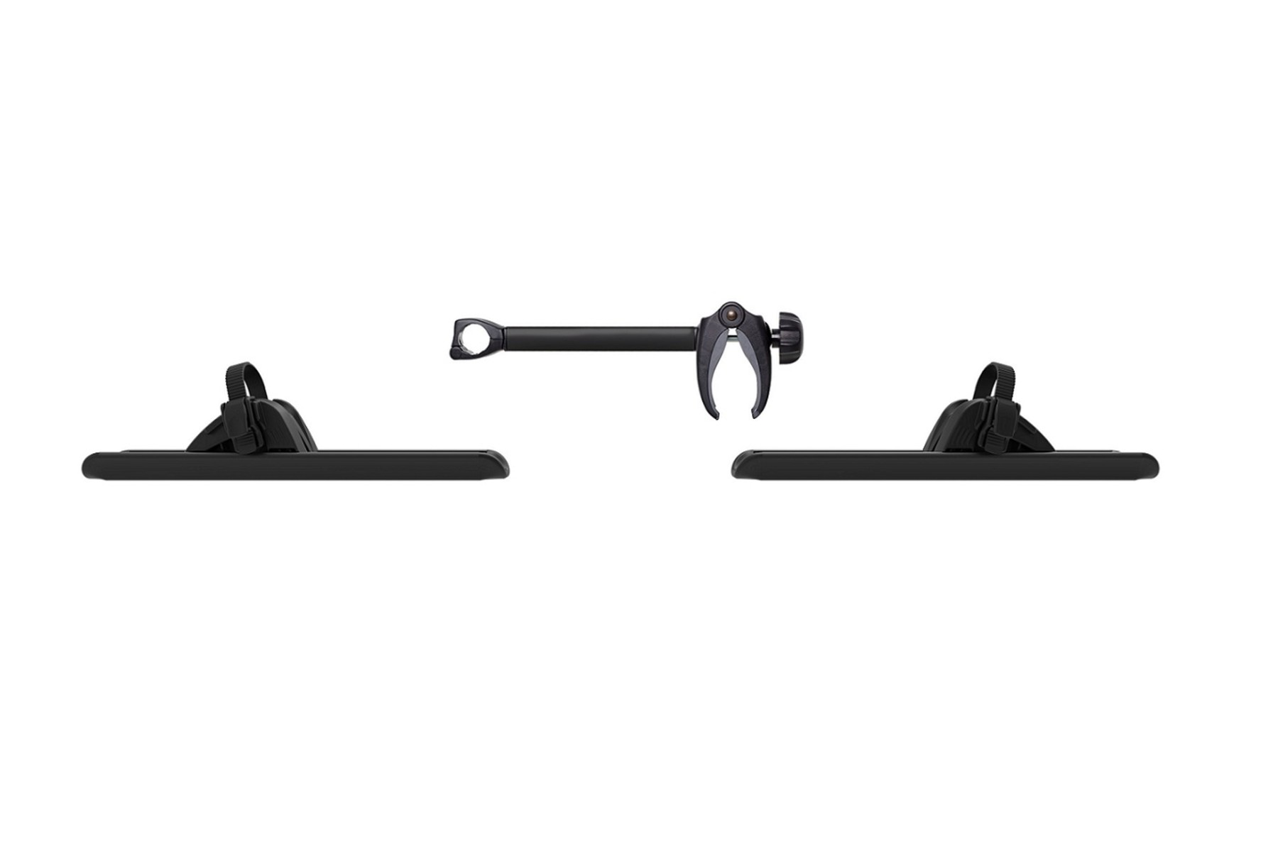 Thule Caravan Superb XT 3rd Rail Kit Black
