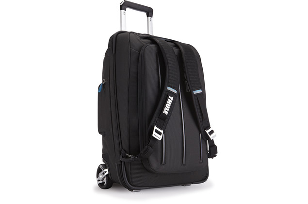 Thule Crossover Rolling 38L Carry-On Schwarz