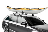 Kayak rack Thule DockGlide on car