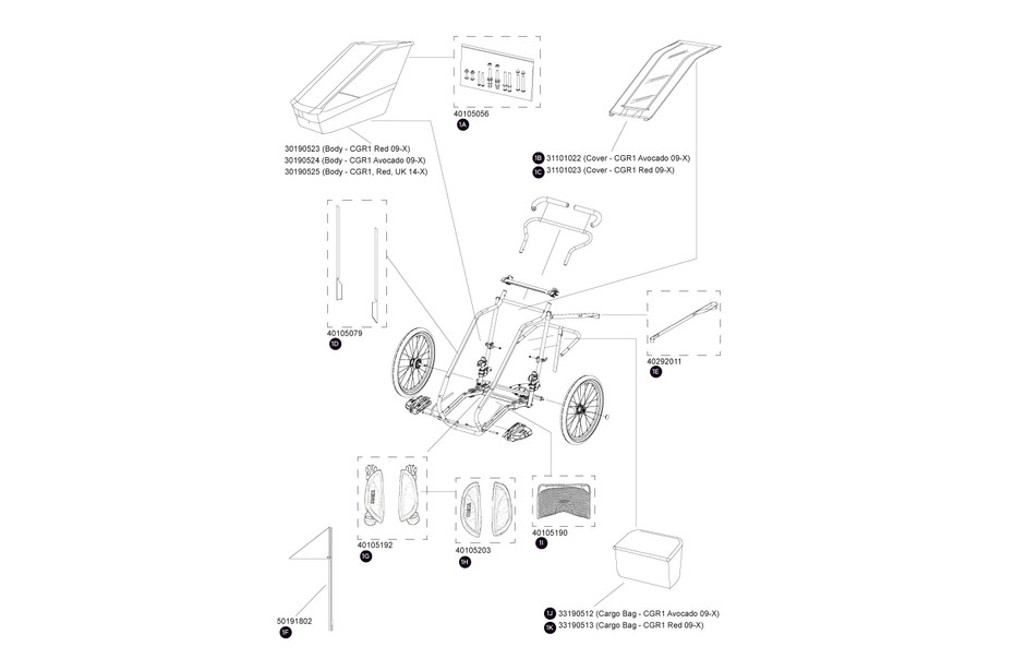 Spare parts | Thule | Canada