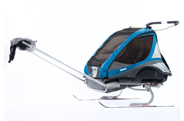 Thule Captain2 Blue Skiing