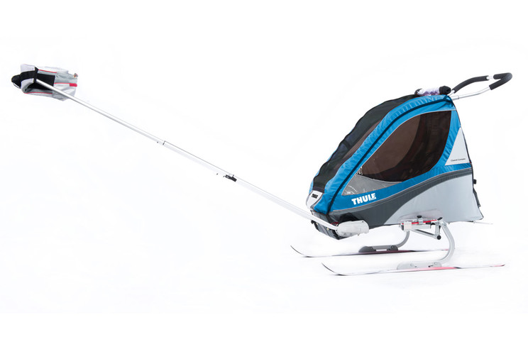 Thule Corsaire2 Blue Skiing