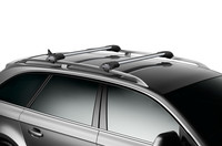 Thule Aeroblade Edge 750x on car
