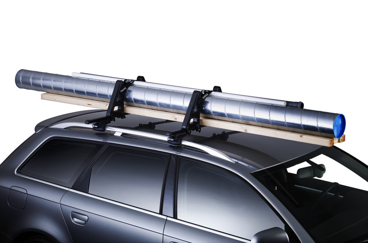 Thule Load Stop 502 on car