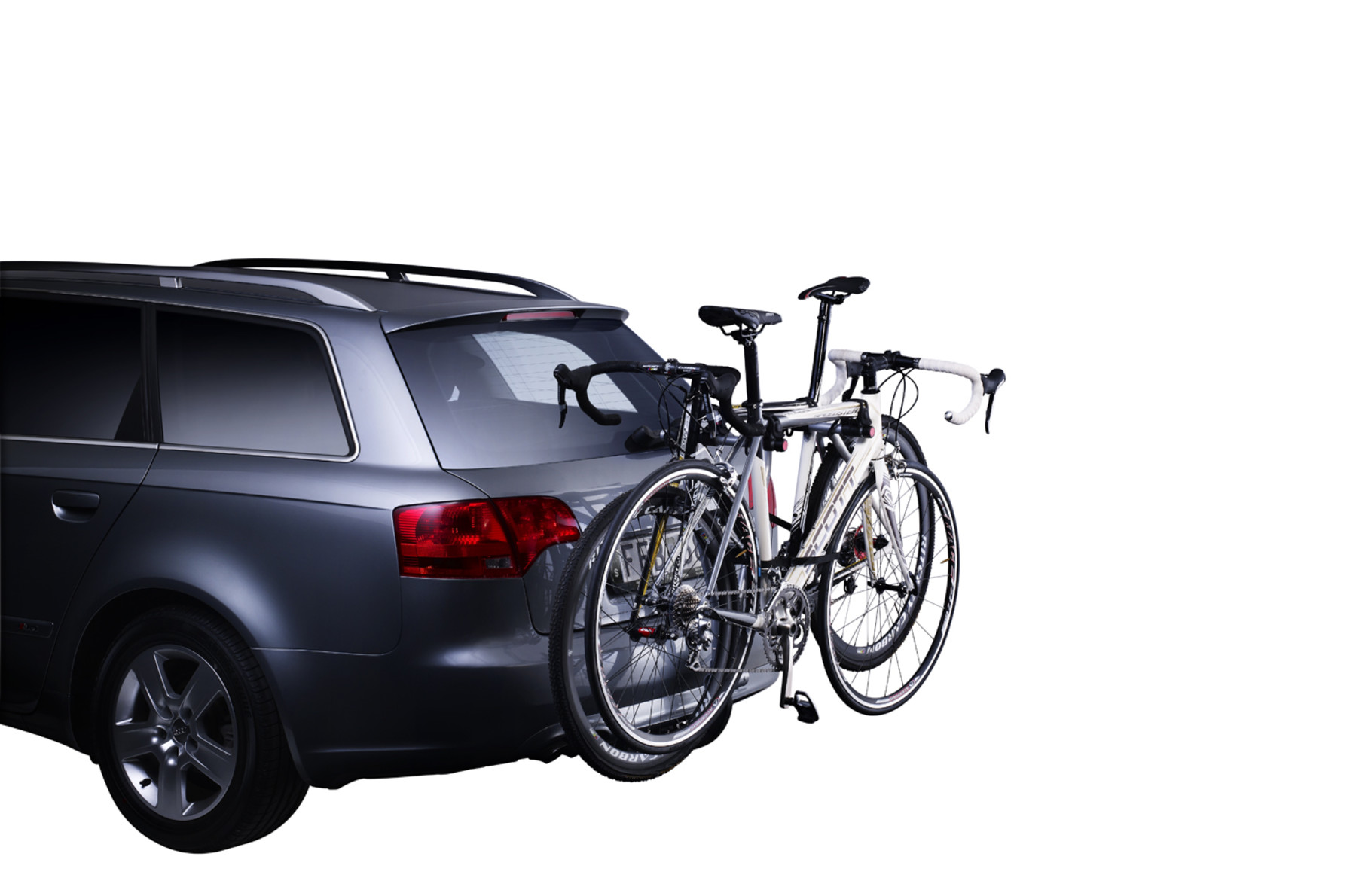 Bike rack Thule Xpress on car