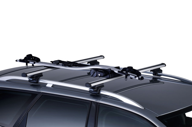 Thule ProRide 591 on car