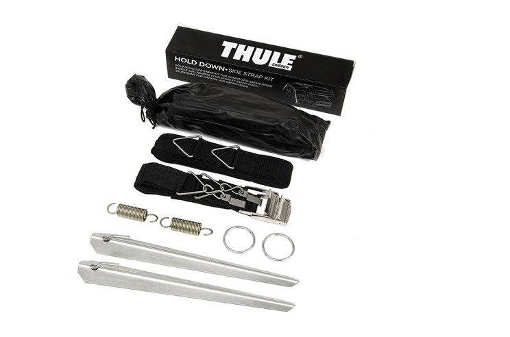 Thule Hold Down Side Strap Kit content