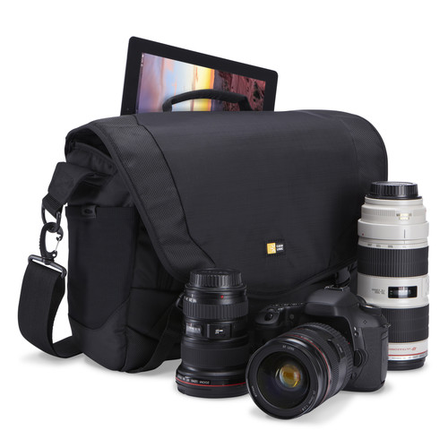 DSM-103 Large DSLR + iPad® Messenger Bag