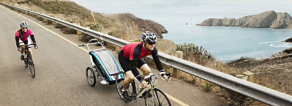 The Perfect Getaway - Bike trailers
