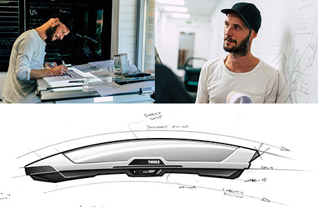 Thule Motion XT design team