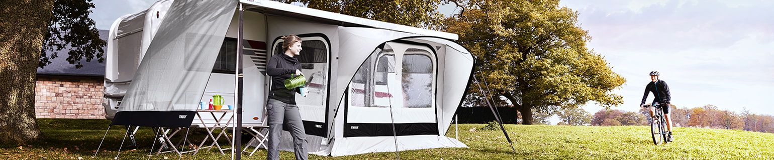 Caravan awning tents & Awning tents for caravans | Thule | UK