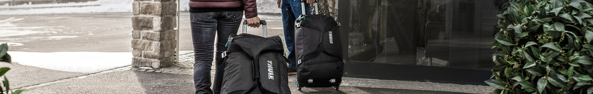 Thule checked luggage