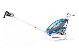 Thule Chariot XT with Ski kit