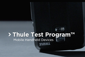 Thule Test Program Mobile Handheld Devices
