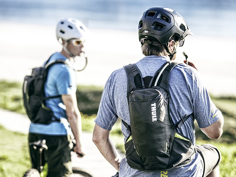 Hydration backpacks