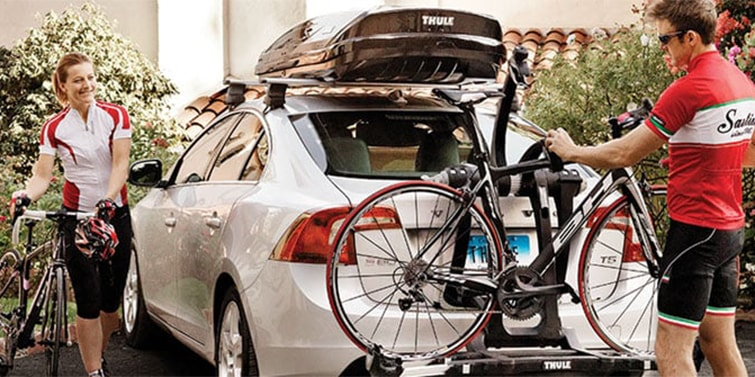 Thule trunk bike racks