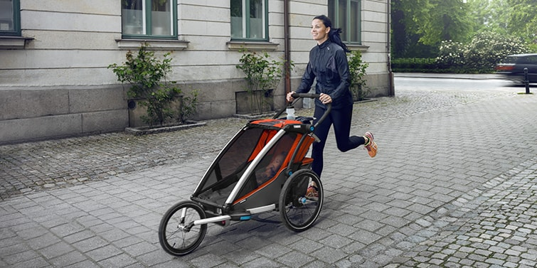 Thule bike trailer