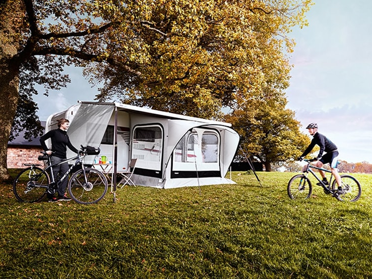 Thule accessories for caravans