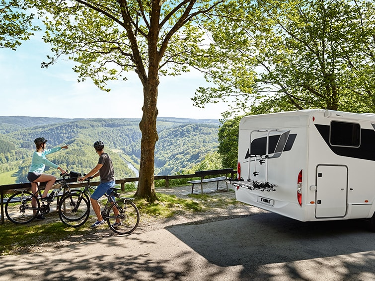 Thule bike racks for motorhomes