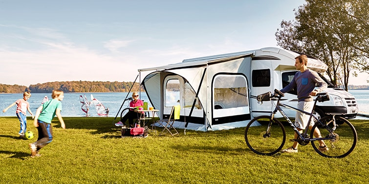 Short stay tents & Tents for motorhomes | Thule | UK