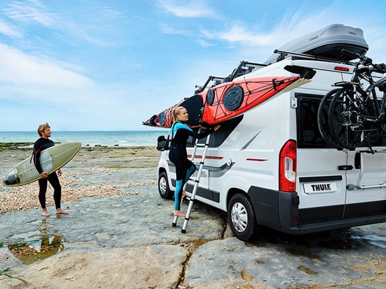 Thule bike racks for vans